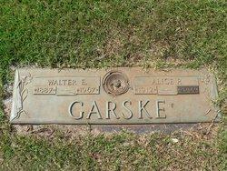 Alice P. <i>Parker</i> Garske