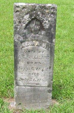 Alma H <i>Kemp</i> Gilliland