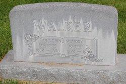 Mattie Mae <i>Needham</i> Walker