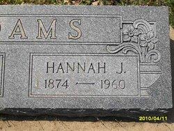 Hannah J Adams
