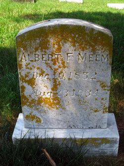 Albert F Meem
