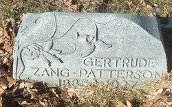 Gertrude <i>Zang</i> Patterson
