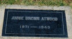 Annie <i>Brown</i> Atwood