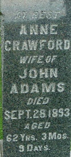 Anne <i>Crawford</i> Adams