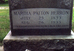 Martha Helen <i>Patton</i> Herron
