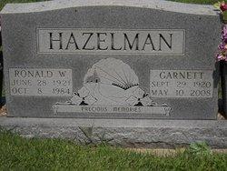 Garnett L <i>Earley</i> Hazelman