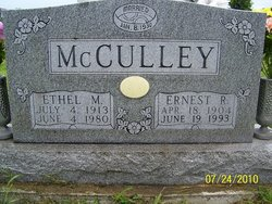Ethel May <i>Wendt</i> McCulley