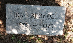 Ida Ellen <i>Thomas</i> Bronoel