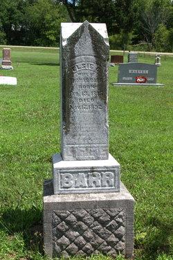 Elsie C. Alsey <i>Watt</i> Barr