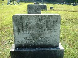 Nellie M <i>Stacy</i> Garland