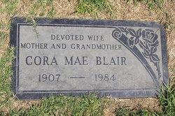 Cora Mae <i>Curbow</i> Blair