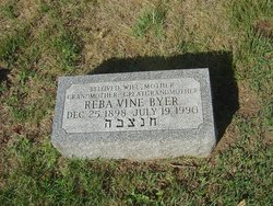 Reba <i>Vine</i> Byer