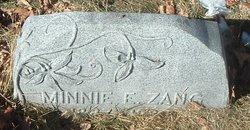 Minnie E Zang