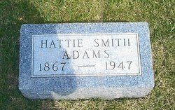 Hattie May <i>Smith</i> Adams