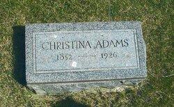 Christina <i>Smith</i> Adams