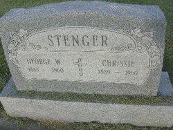Christina Matilda Chrissie <i>German</i> Stenger