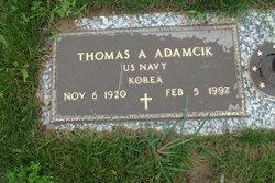 Thomas A Adamcik