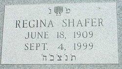 Regina Rebecca <i>Kestenberg</i> Shafer