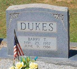 Barry T Dukes