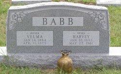 Velma <i>Townsend</i> Babb