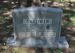 Martha <i>McKnight</i> Baldwin