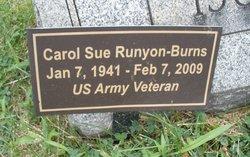 Carol Sue <i>Runyon</i> Burns