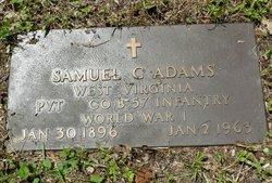 Pvt Samuel C. Adams
