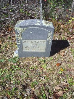 Agnes <i>Maynor</i> Boyd