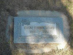 Viola Cleone <i>Cummings</i> Card
