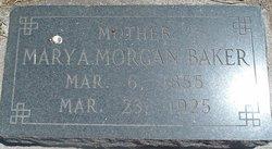 Mary Alice <i>Morgan</i> Baker