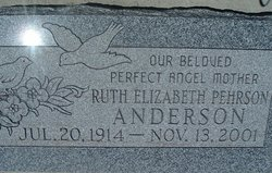 Ruth <i>Pehrson</i> Anderson