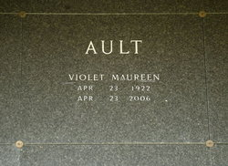 Violet Maureen <i>Lee</i> Ault