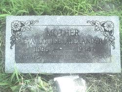 Eva Louise <i>Holder</i> Alexander