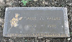 Mable Alice <i>Roark</i> Valdez
