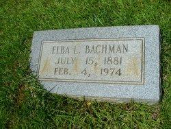 Elba <i>Glasco</i> Bachman