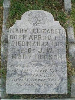 Mary Elizabeth Beckom
