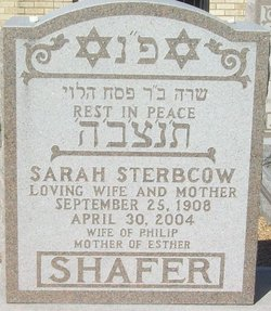 Sarah Gertrude <i>Sterbcow</i> Shafer