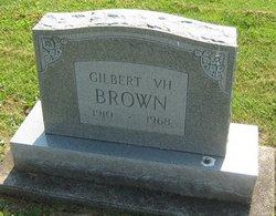 Gilbert V H Brown