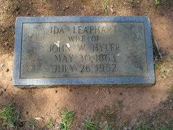 Ida <i>Leaphart</i> Hyler