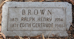 Ralph Henry Brown