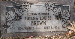 Thelma Louise Brown