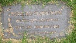 Gwenva May <i>Clarke</i> Boyer