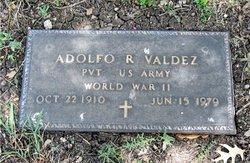 Adolfo R Rudy Valdez