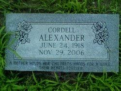Cordell <i>Scruggs</i> Alexander