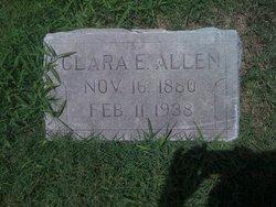 Clara E. <i>Cowell</i> Allen