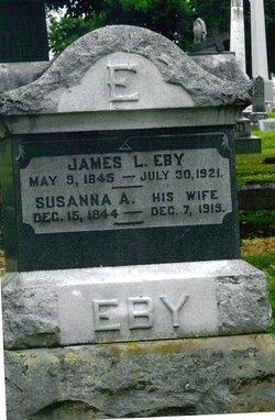 Susanna A. <i>Spangler</i> Eby