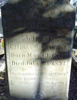 Julia F Chadwick
