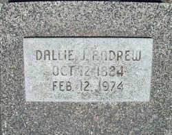 Dallie <i>Julian</i> Andrew