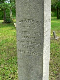 Mary Ann <i>Bush</i> Cadby