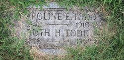 Caroline E <i>Chester</i> Todd